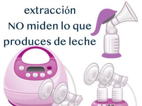 Los extractores de leche NO miden la producción