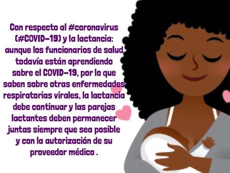 COVID-19 y la lactancia
