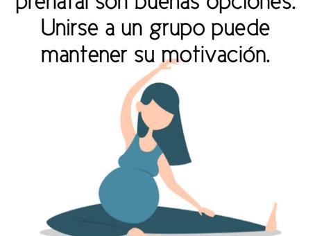 Actividad física durante la gestación