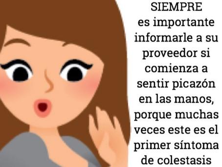 La picazón en las manos durante la gestación es síntoma de colestasis