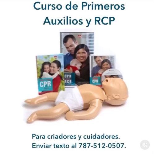 Curso Primeros Auxilios y RCP