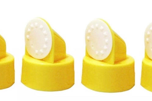 Medela yellow valve with membrane set of four