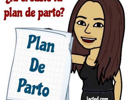 ¿Ya creaste el plan de parto?