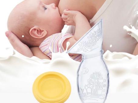 Recolector de leche para hacer el banco de leche