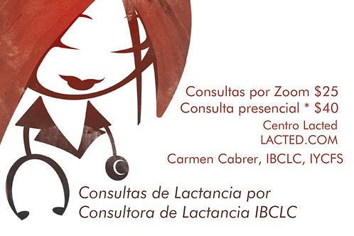 Consultas de Lactancia por IBCLC