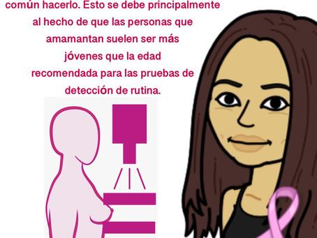 Las mamografías y la lactancia