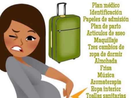 ¿Qué llevar en tu maleta de hospital?