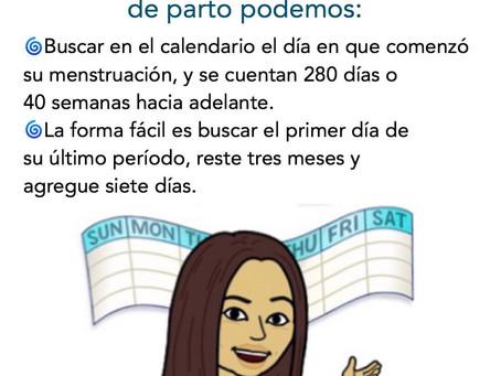 Cómo calcular la fecha probable de parto
