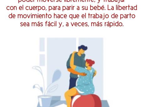 Libertad de movimiento durante el trabajo de parto