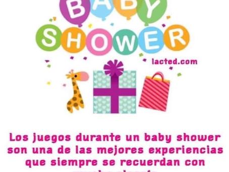 Nuevos juegos para el baby shower