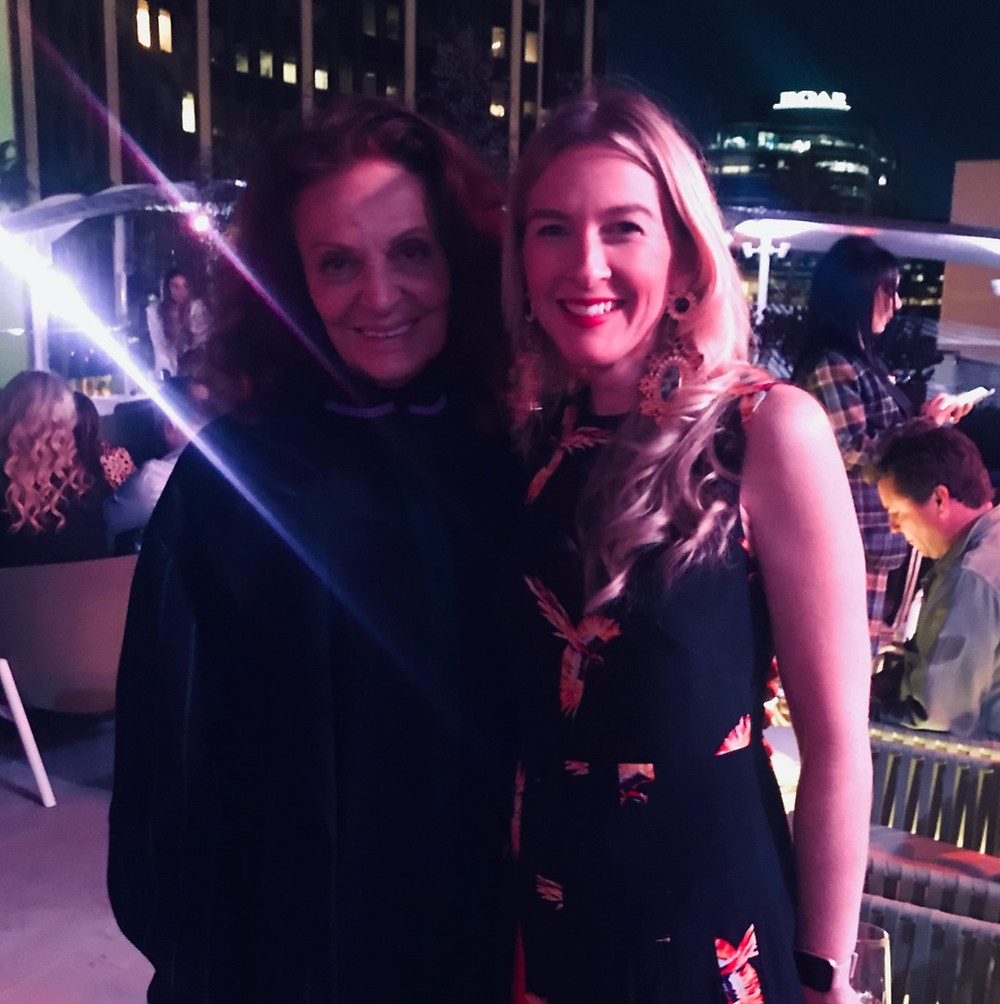 DVF with Carly Vidal Wallace