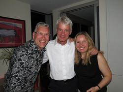 Derek with Thies Roorda & Lorna McGh