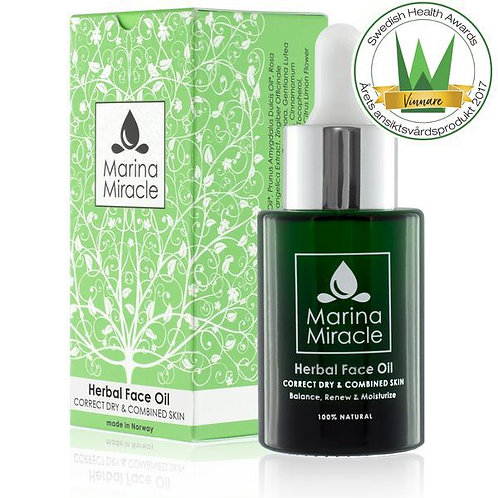 Marina Miracle - HERBAL FACE OIL