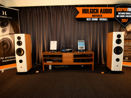 Hulgich Audio with Nord Acoustic Amps win Best Sound Overall Sound at Australian Stereonet Internati