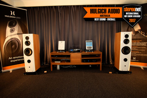 Hulgich Audio powered by Nord's Win Best Overall Soumd at Stereonet International HiFi Show 2017