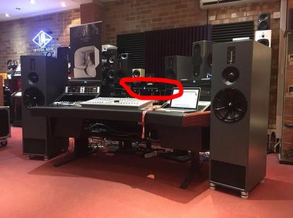 Nord driving Kerr Acoustic K100 Studio Monitors at KMR London