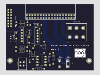 Input Buffer PCB board final design ordered