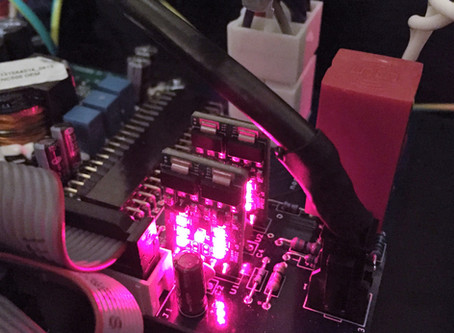 New Nord Buffers glowing Hypex V Regulators complete with Burson V5