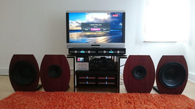 Speakers from Caintuck Audio in the US With 2 PRE-A preamps and 4 Nord One MB