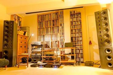 Townshend Audio Sir Galahad at Hi Fi News John Bamford for the evening.