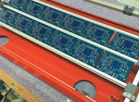 Buffer boards go into production, new board tested and work fine, phew I have 150 of them!