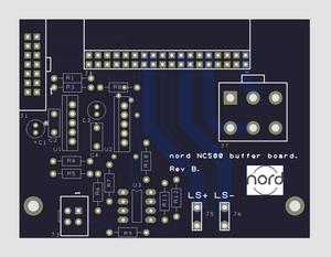 Input Buffer PCB board