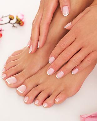 Spa treatment. Manicure and pedicure..jp