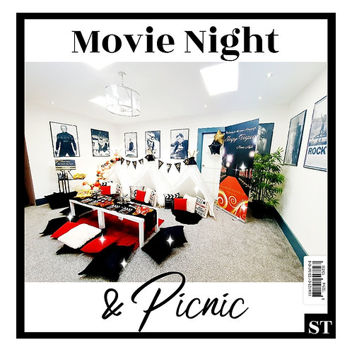 MOVIE NIGHT & PICNIC. Priced per person