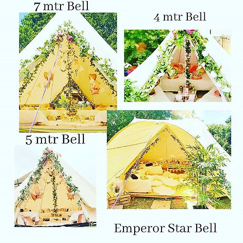 BELL TENT. ALL THEMES INCLUDED