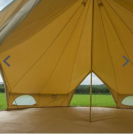 QUAD DOOR BELL TENT HIRE