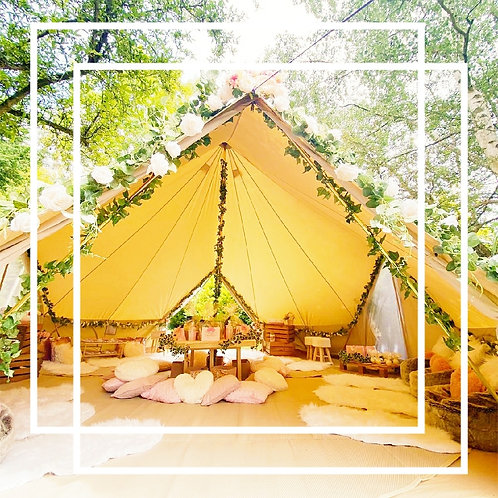 SPA & PAMPER BELL TENT