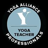 Yoga alliance professionals membership badge