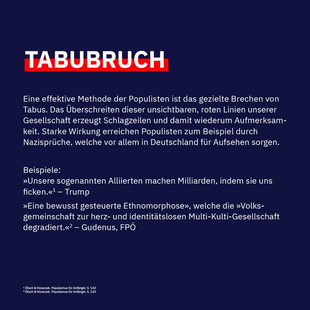 Tabubruch