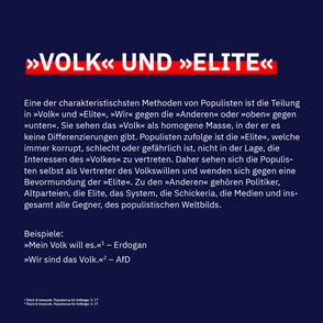»Volk« und »Elite«