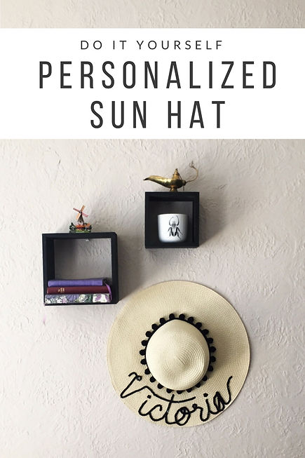 14f30da099227 diy - personalized sun hats.