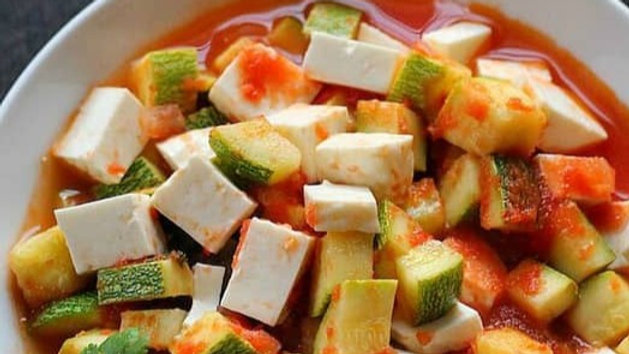 Calabacitas with Queso
