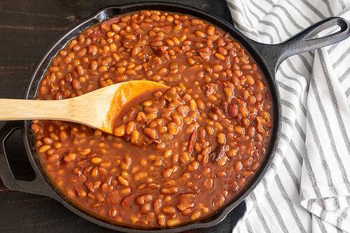 Homemade Bourbon Baked beans