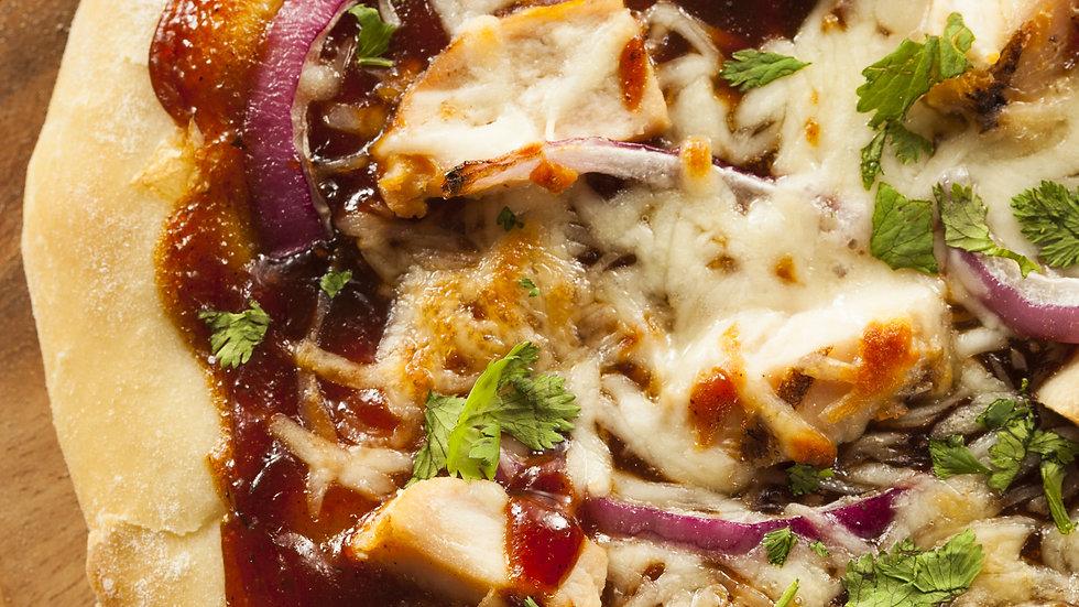 BBQ Chicken Mini Pizzas