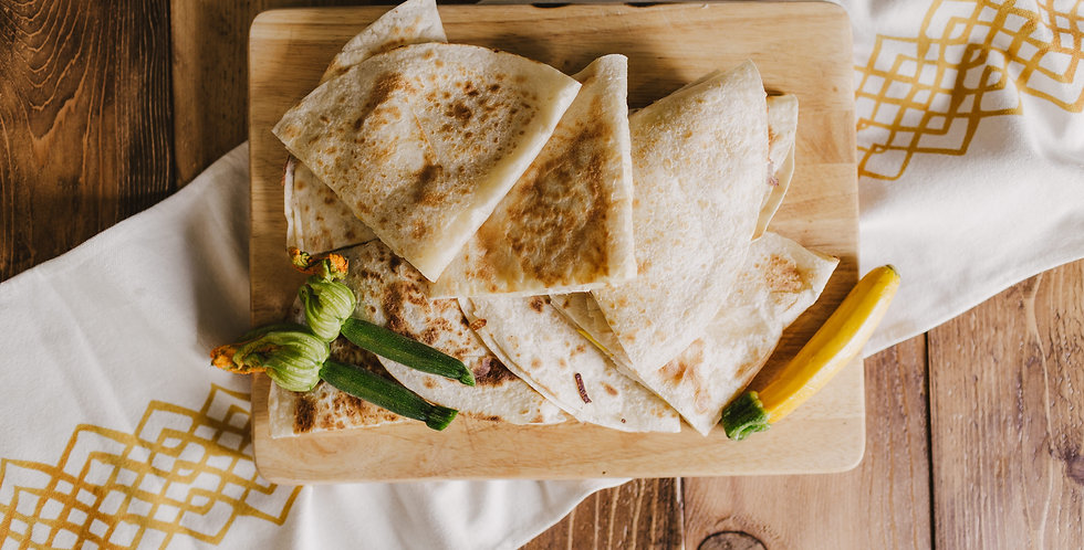 Simple Cheese Quesadillas