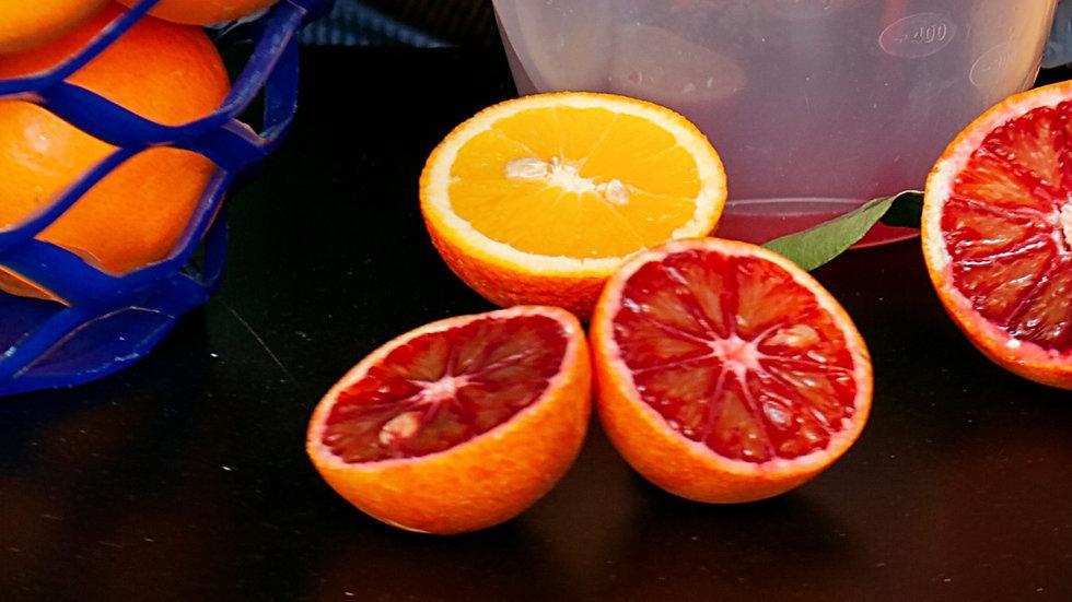 Bag of Colorful Oranges
