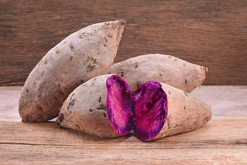 Baked Okinawa Sweet Potatoes