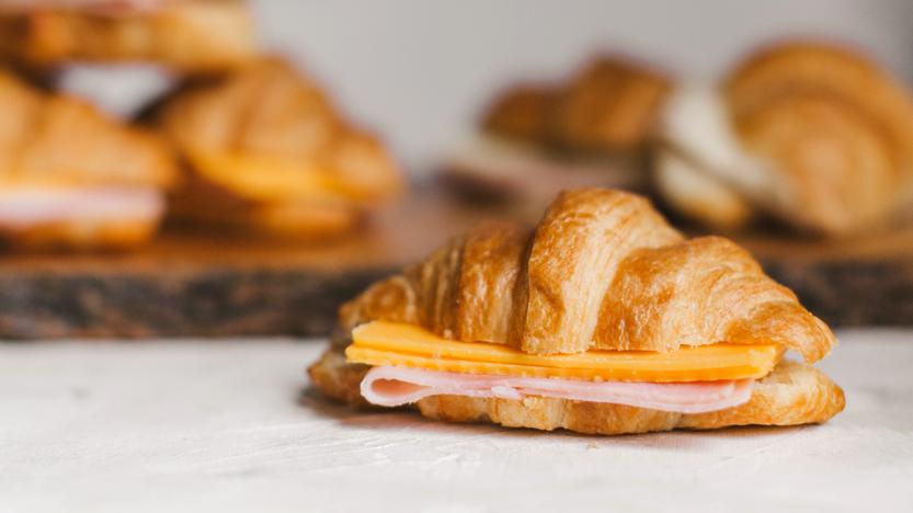 Ham & Cheese Mini Croissants
