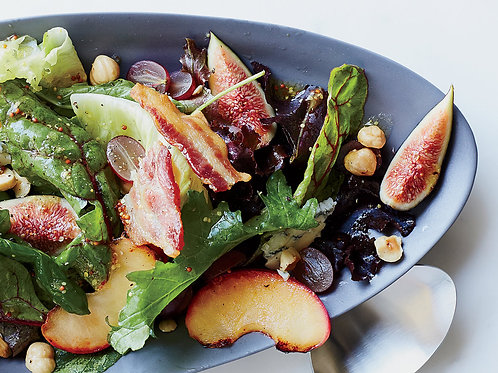 Autumn Salad with Figs & Blue Cheese