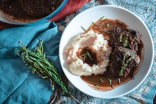 Red Wine Braised Beef Shortribs