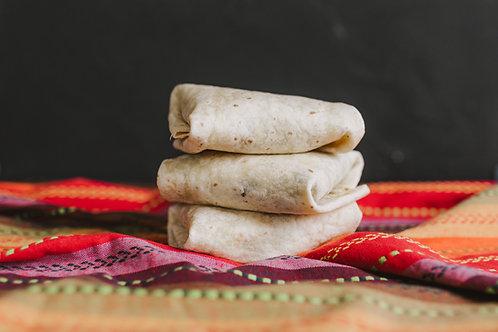 Beef & Cheddar Burritos