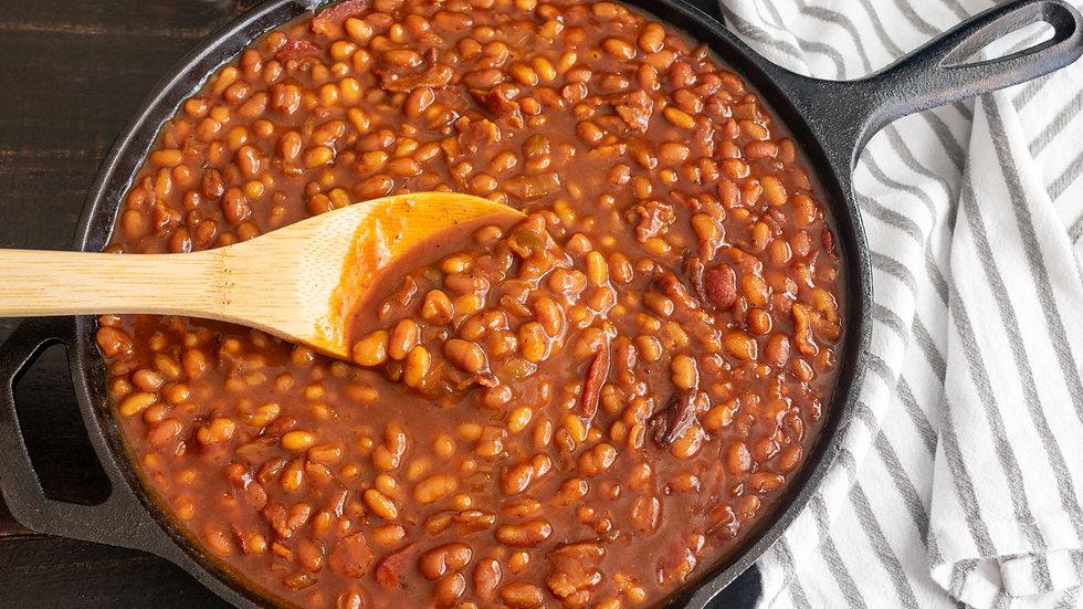 Home Made Bourbon Baked Beans