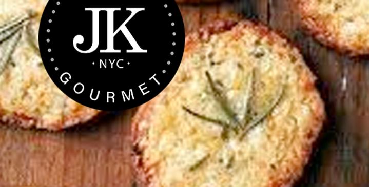 Slice and Bake Parmesan Crackers