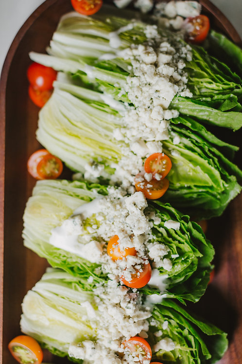 Baby Romaine Wedge with Blue Cheese