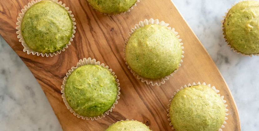 Spinach Cake Muffins
