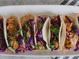 Thai Chicken Street Tacos
